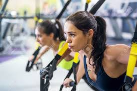 TRX lean and strong fitness class